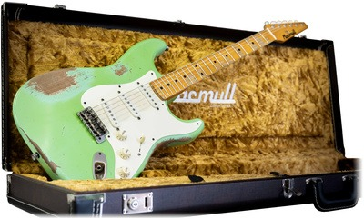 Macmull Guitars S Classic Mad Green Mn 2018