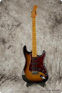 Börjes Bass And Guitar Design St Custom Two Tone Sunburst