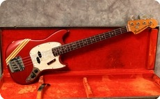 Fender Mustang Bass 1973 Competition Red