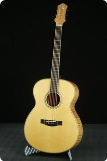 A.kuwano Guitars Model 151 Bold Om 2016 Natural