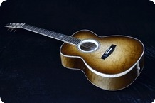 Rozawood BELLISIMO BLUES Birds Eye Maple Bevel 2015 Nitrocellulose Lacquer Sunburst