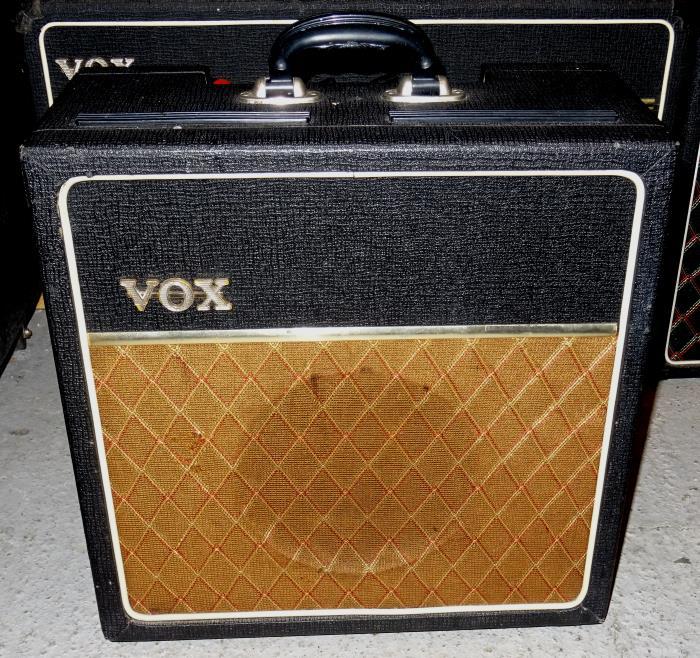 Vox AC4 AC 4 1964 Black Amp For Sale Hendrix Guitars