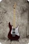 Schecter Superstrat 2010 Wine Red With Quilted Maple Top