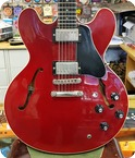 Gibson 335 1989 Red