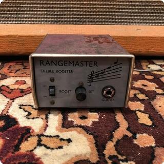 Dallas Vintage 1960s Dallas Rangemaster Treble Booster Mullard Oc44 Guitar Pedal