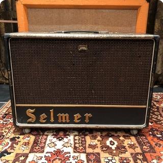 Selmer Vintage 1964 Selmer Truvoice Twin Fifty 50 Zodiac Amplifier