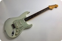 Fender 1960 Stratocaster Relic Custom Shop 2013 Olympic White