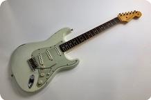 Fender 1960 Stratocaster Relic Custom Shop 2013 Olympic White