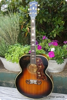 Gibson Sj 200 1954 Sunburst