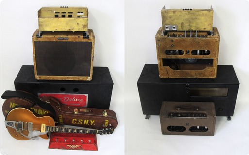 Monster Amps & Visual Clone Guitars Neil Young's Setup Clone 2018 Aged Gold Top