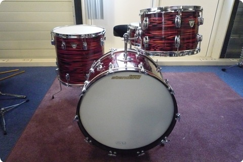 Ludwig Standard S 320 Outfit 1968 Ruby Strata