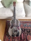 National Reso phonic Guitars Style 1 Trione 2003 Nickel Silver