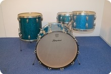 Slingerland Radio King 1958 Aquamarine Sparkle