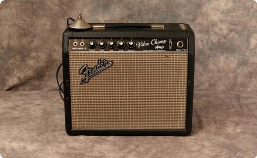 Fender Vibro Champ 1966 Black Tolex