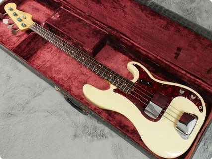 Fender Precision Bass 1966 Blonde