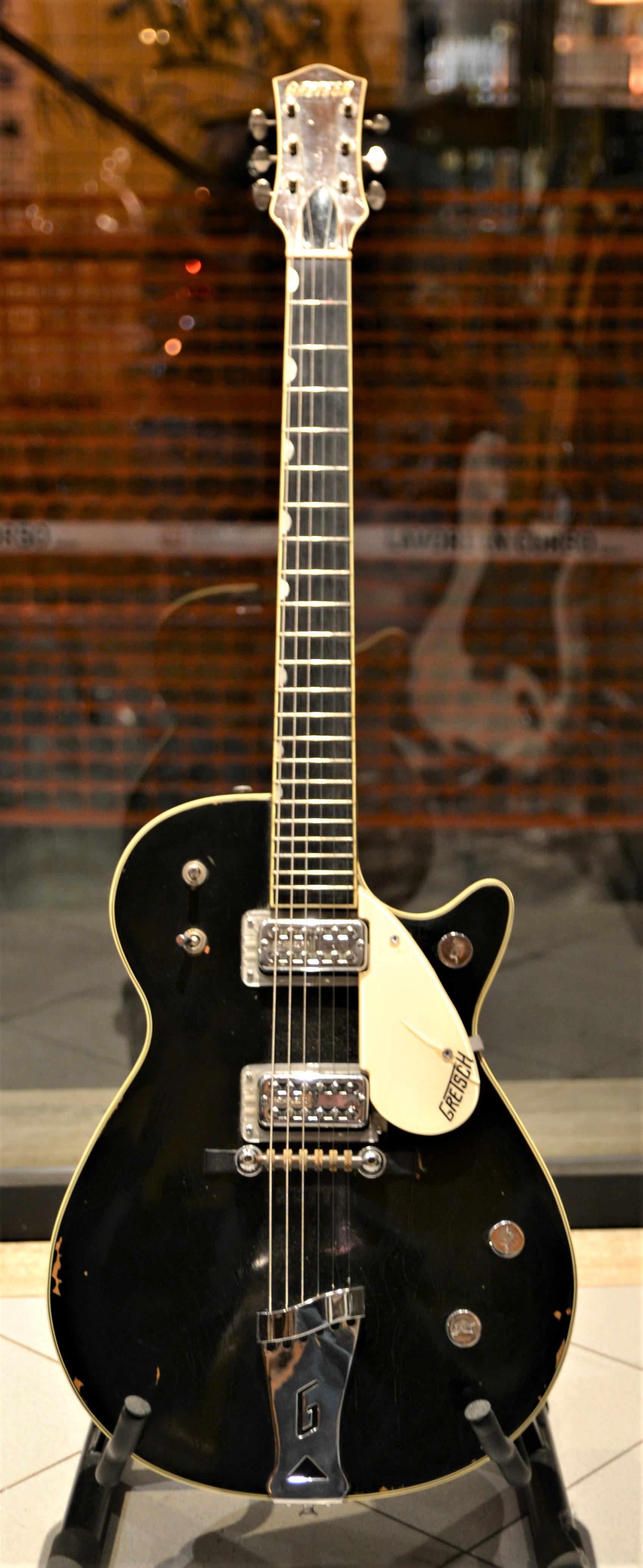 Gretsch Duo Jet 1958 Black Guitar For Sale Rome Vintage