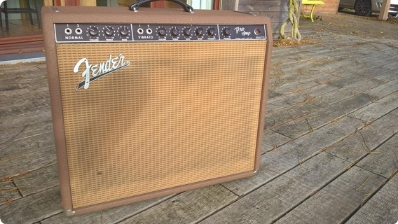 Fender Pro 1963 Brown