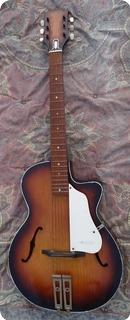 Egmond Acoustic G.harrison 1950 Violin Sunburst