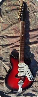 Rosetti Super Solid 7 1960 Red Burst