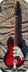 Rosetti Super Solid 7 1960 Red Burst