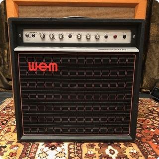 Wem Vintage 1970s Wem Watkins Dominator Bass Mki 1x15 Valve Amplifier
