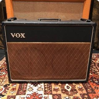 Vox Vintage 1964 Vox Ac15 Twin 2x12 Black Jmi Amplifier Combo