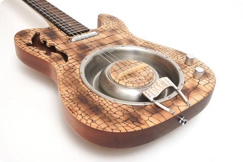 Stoll Guitars Blues Bones The Resodile