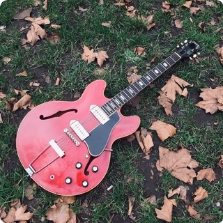 Gibson Es330 1960 Cherry Red