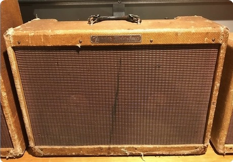 Fender High Powered Twin Ex Rory Gallagher 1955 Tweed