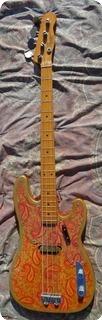 Fender Telecaster Bass 1968 Paisley