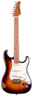 Xotic Guitars Xsc 1 Mn 3ts Heavy Aged