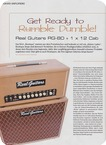 Real Guitars RG 80 2019 Brown Tolex