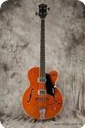 Gretsch-6119B Broadkaster Bass-Orange