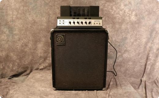 Ampeg B15 1969 Black Tolex