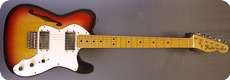 Fender Thinline Telecaster 1975 3 Tone Sunburst