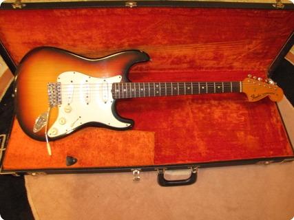 Fender Stratocaster 1970 Sunburst 3 Tone