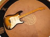 Fender-Stratocaster-1957-Sunburst 2 Tone