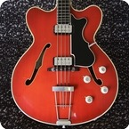 Hofner Verithin Bass 1964 Cherry