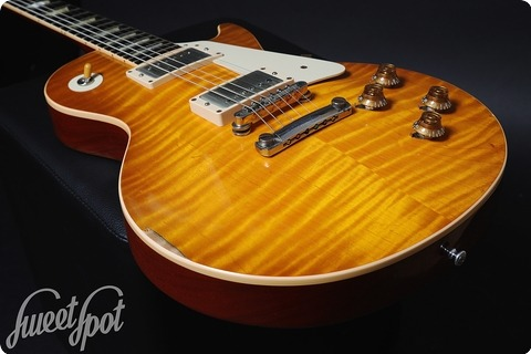 Gibson Les Paul Cc#2 Goldie Collectors Choice #2 2011 Green Lemon Burst