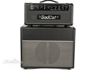 Bad Cat Black Cat 15 Reverb Legacy Head With 1x12 Cabinet Black Bronco