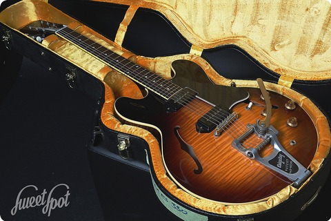 Gibson Es 330 Flametop 2016 Tobacco Sunburst