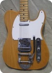 Fender-TELECASTER Bigsby-1971-Natural
