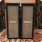 Marshall Vintage 1970s Marshall Checkerboard 2x10 PA Speaker Columns Cabinets
