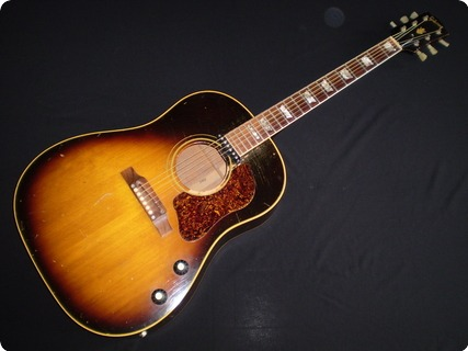 Gibson J160e 1967 Sunburst