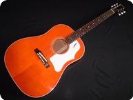 Gibson 1968 J 45 ADJ Reissue Translucent Orange Custom Shop 2007 Orange
