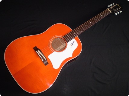 Gibson 1968 J 45 Adj Reissue Translucent Orange Custom Shop 2007 Orange