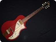 Supro Airline Belmont 1956 Red