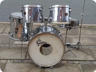 Gretsch Drums Vintage 1970 Chrome Silver