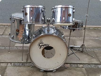 Gretsch Drums Vintage 1970 Chrome / Silver