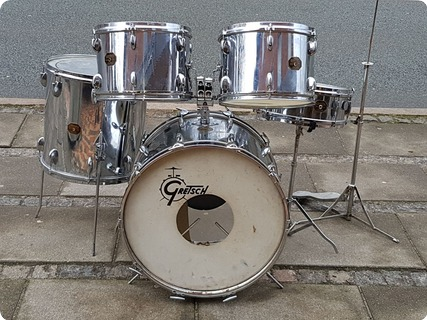 Gretsch Drums Vintage 1970 Chrome / Silver